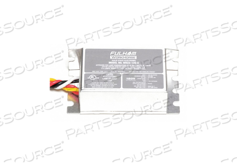 ELECTRONIC BALLAST -20DEGF 0.25A 5 TO35W by Fulham