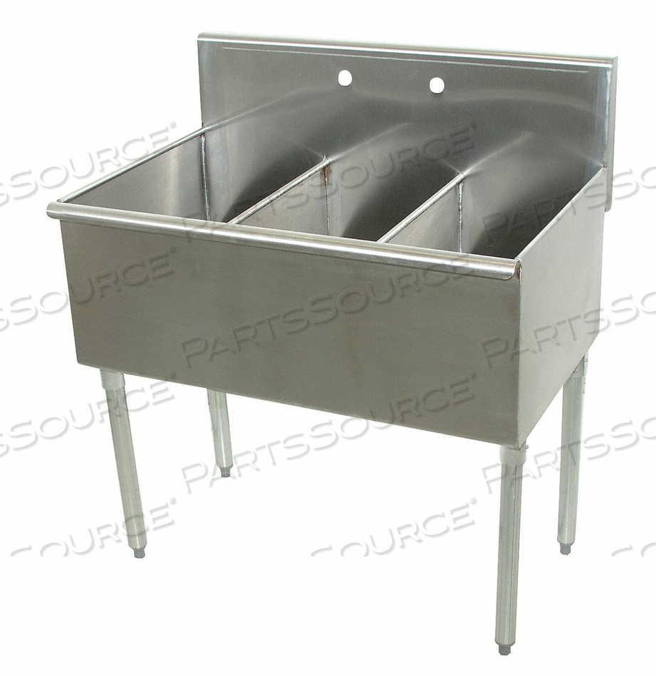 UTILITY SINK STAINLESS STEEL 54 IN L by Advance Tabco