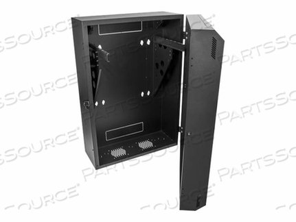 STARTECH.COM 8U VERTICAL SERVER CABINET - WALL MOUNT NETWORK CABINET - 30 IN. DEPTH - RACK ENCLOSURE CABINET - WALL MOUNTABLE - BLACK - 8U by StarTech.com Ltd.