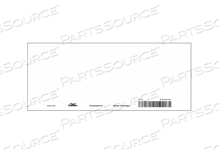 SAFETY SIGN 10-1/4 W 4-1/4 H PK10 by Condor