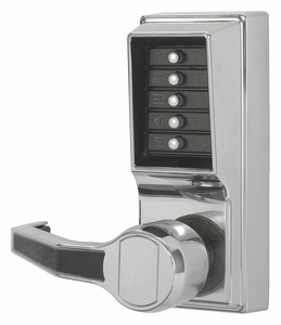 PUSH BUTTON LOCKSET 1000 LEVER by Kaba