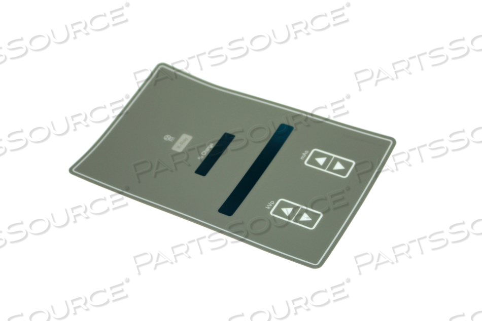 CONTROL PANEL LABEL, GRAY by GE Healthcare