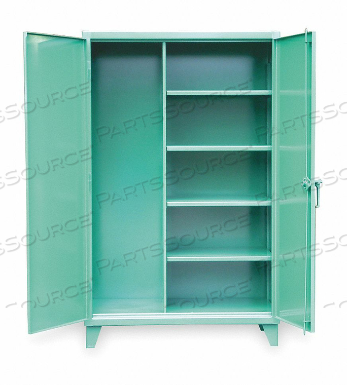 JANITORIAL CAB 78 H 48 W FEDERAL GREEN by Strong Hold