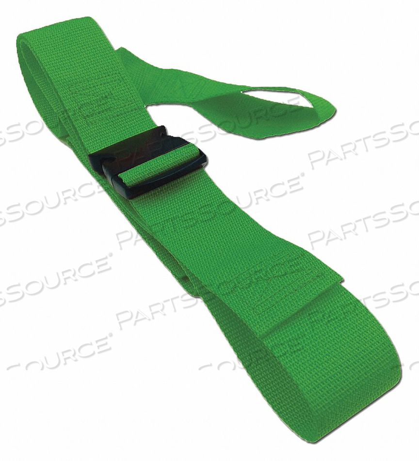 STRAP GREEN 5 FT L by Disaster Management Systems (DMS)