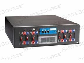 """POWERWARE RACK POWER MODULE RPM-3U - POWER DISTRIBUTION UNIT ( RACK-MOUNTABLE ) - AC 208 V - 3-PHASE - RS-232 - OUTPUT CONNECTORS: 12 ( NEMA 5-20 ) - 3U - 19"""""""