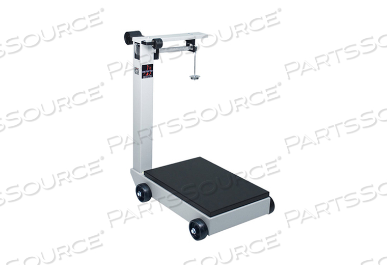 PORTABLE MECHANICAL FLOOR SCALE 1000 LB/500 KG, LEGAL FOR TRADE by Detecto Scale / Cardinal Scale