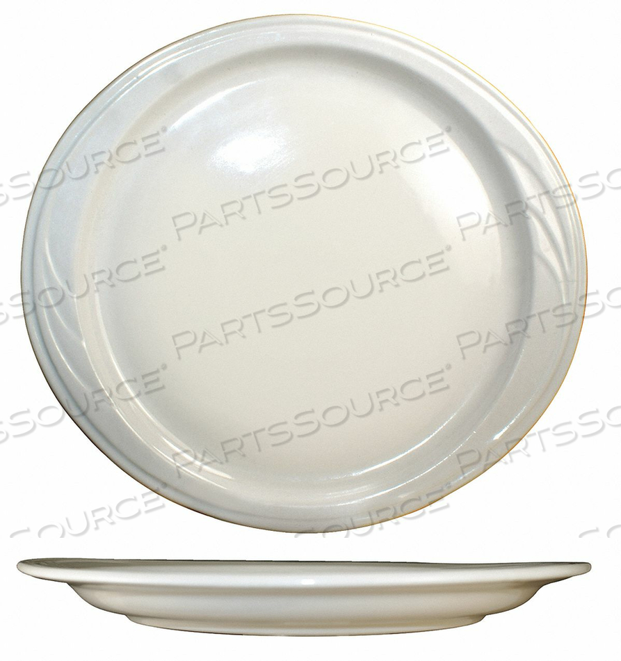 PLATTER 10-7/8X10 AMERICAN WHITE PK24 by ITI