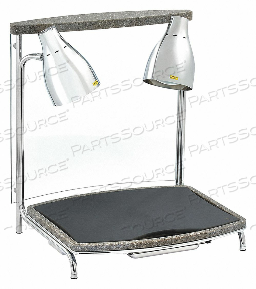 CARVING STATION 2 LAMPS 120VAC STEEL by Vollrath
