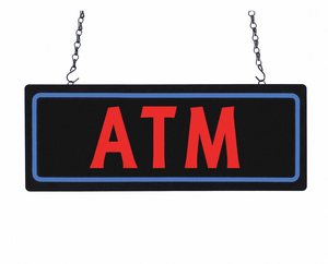 LED BUSINESS SIGN 18 L PLASTIC by CM Global