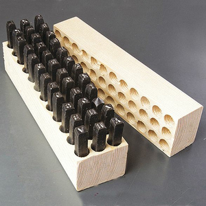 MACHINE MADE COMBO SET 1/4IN 36 PIECES by Young Bros. Stamp Works, Inc.
