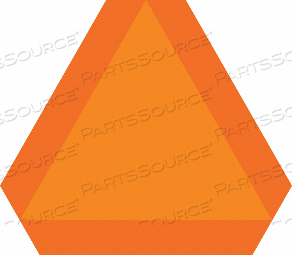 SAFETY SIGN 16 X14 0.500 THICK ALUM. by Condor