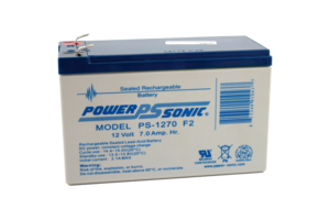 LARGE CELL BATTERY, LEAD ACID, 12V, SLA, 8.5 AH by Hill-Rom