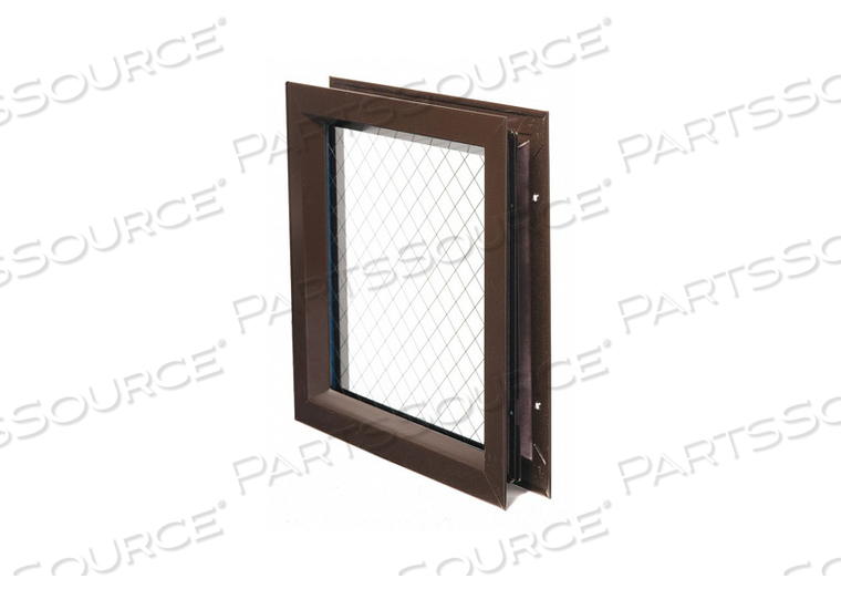 LITE KIT WITH GLASS 12INX12IN DRK BRONZE by National Guard Products
