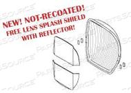 REFLECTOR WITH LENS SPLASH SHIELD