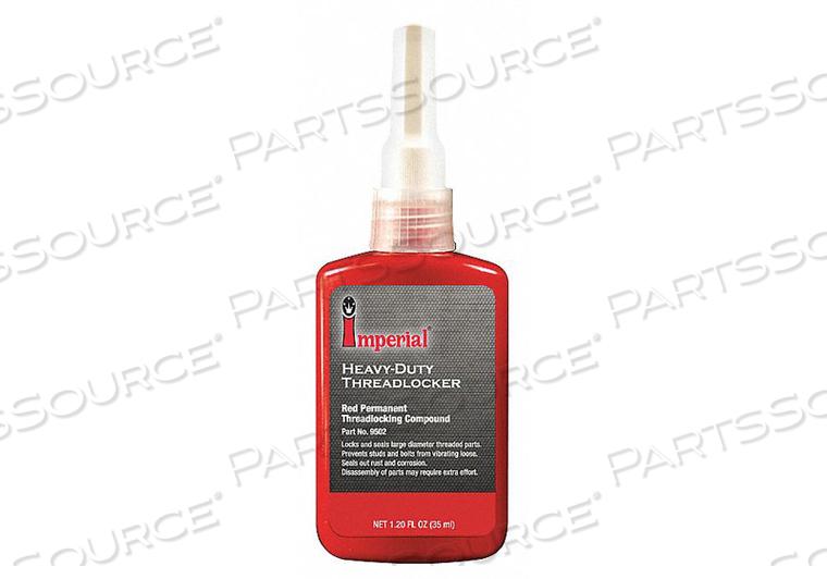 THREADLOCKER 35ML RED HIGH STRENGTH PK4 by Imperial Supplies