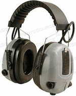 ELECTRONIC EAR MUFF 25DB OVER-THE-HEAD by Elvex