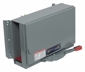 SWITCH FUSIBLE QMB 600V 800A 3P by Square D