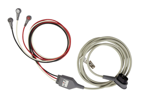3-LEAD ECG CABLE - AAMI WITH LOW PROFILE PROPAQ MD CONNECTOR by ZOLL Medical Corporation