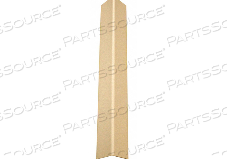 CORNER GUARD TAPED 1-1/2X48 IN. IVORY by Pawling Corp