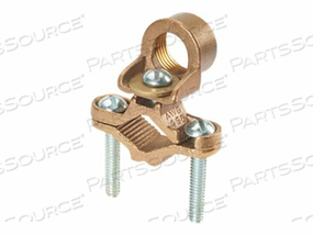 PANDUIT STRUCTURED GROUND MECHANICAL CONNECTORS BRONZE GROUND CLAMP FOR CONDUIT - GROUNDING CLAMP KIT by Panduit