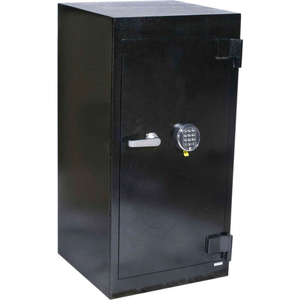 """SECURITY SAFE 20-1/2""""W X 20""""D X 41""""H ELECTRONIC & KEY LOCK 6.81 CU. FT. BLACK by Fire King"""
