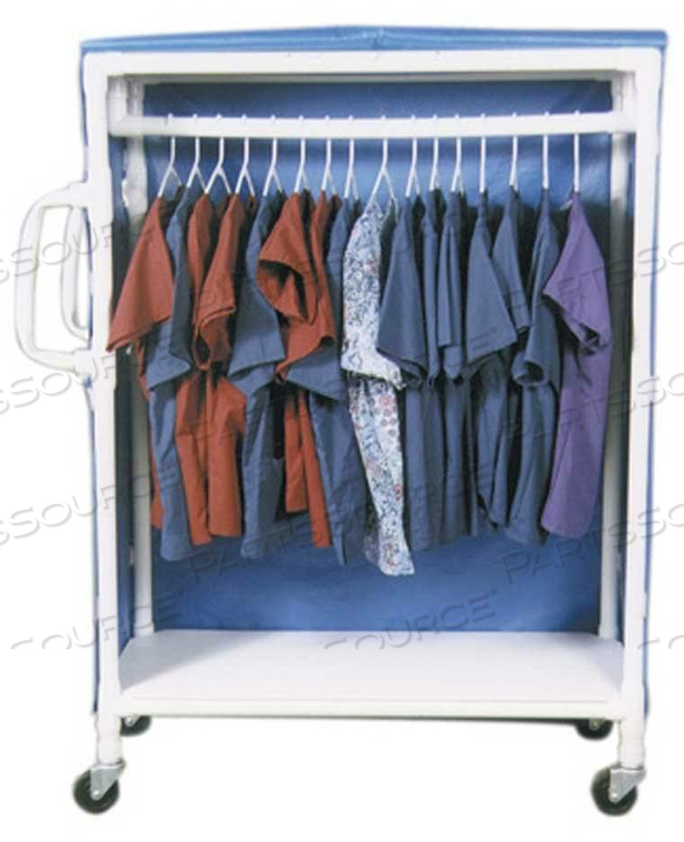 GARMENT RACK PVC LUMEX (END OF LIFE / NO LONGER SUPPORTED BY OEM)