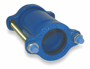 DUCTILE IRON COUPLING 4 IN PIPE SIZE by Smith-Blair
