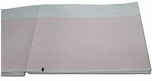 """8.4""""X 8.8"""" Z-FOLD GRIDDED THERMAL PAPER by Mortara Instrument, Inc"""